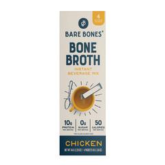 BARE BONES INSTANT BONE BROTH CHICKEN 4 CT  2.12 OZ STICK