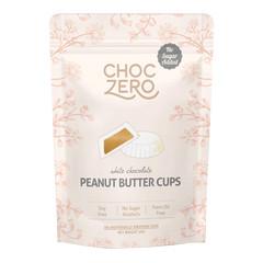 CHOCZERO WHITE CHOCOLATE PEANUT BUTTER CUPS 3 OZ POUCH