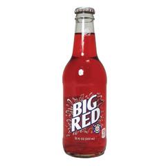 BIG RED CREAM SODA 12 OZ