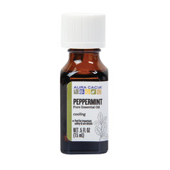 AURA CACIA ESSENTIAL PEPPERMINT OIL 0.5 OZ