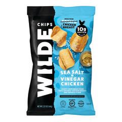 WILDE CHIPS SEA SALT & VINEGAR CHICKEN 2.25 OZ BAG