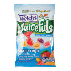 WELCH'S JUICEFULS MIXED FRUIT 4 OZ PEG BAG