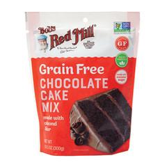BOB'S RED MILL GRAIN FREE CHOCOLATE CAKE MIX 10.5 OZ PEG BAG