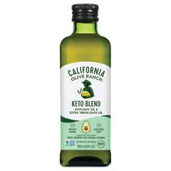 CALIFORNIA OLIVE RANCH AVOCADO & EXTRA VIRGIN OLIVE OIL KETO BLEND 16.9 OZ BOTTLE
