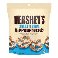 HERSHEY'S COOKIES N CREME PRETZEL 8.5 OZ POUCH