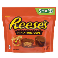 REESE'S MINI PEANUT BUTTER CUP 10.5 OZ POUCH