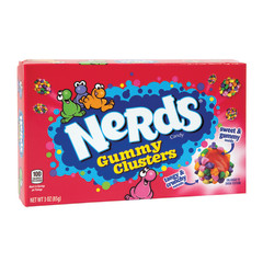 NERDS GUMMY CLUSTERS 3 OZ THEATER BOX