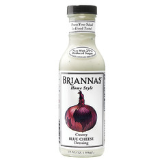 BRIANNAS BLUE CHEESE DRESSING 12 OZ BOTTLE