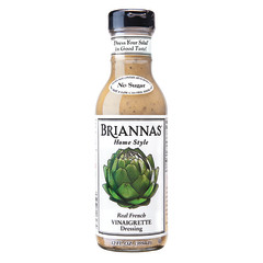 BRIANNAS FRENCH VINAIGRETTE DRESSING 12 OZ BOTTLE