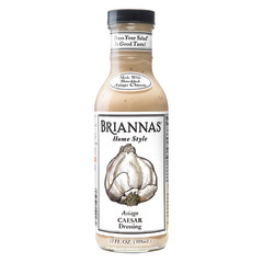 BRIANNAS ASIAGO CAESAR DRESSING 12 OZ BOTTLE