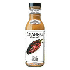 BRIANNAS CHIPOTLE RANCH DRESSING 12 OZ BOTTLE