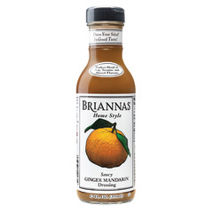 BRIANNAS GINGER MANDARIN DRESSING 12 OZ BOTTLE