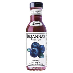 BRIANNA'S BLUEBERRY BALSAMIC VINAIGRETTE 12 OZ BOTTLE