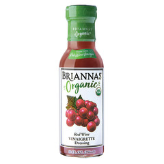 BRIANNA'S ORGANIC RED WINE VINAIGRETTE DRESSING 10 OZ BOTTLE