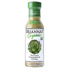 BRIANNA'S ORGANIC FRENCH VINAIGRETTE 10 OZ BOTTLE
