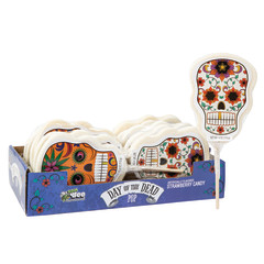 DAY OF THE DEAD SKULL POP 4 OZ