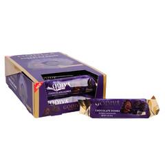 GODIVA DOUBLE CHOCOLATE DOMES 1.1 OZ