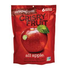 CRISPY GREEN CRISPY FRUIT APPLES 2.1 OZ PEG BAG