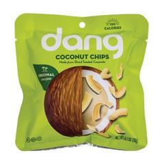 DANG TOASTED COCONUT CHIPS 0.7 OZ PEG BAG