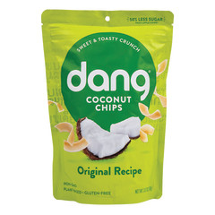 DANG TOASTED COCONUT CHIPS 3.17 OZ POUCH