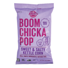 ANGIES SWEET & SALTY KETTLE CORN BOOM CHICKA POP 7 OZ BAG