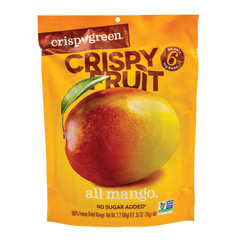 CRISPY GREEN CRISPY FRUIT MANGO 0.36 OZ PEG BAG