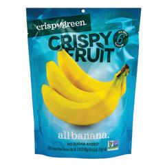 CRISPY GREEN CRISPY FRUIT BANANA 0.53 OZ PEG BAG