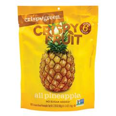 CRISPY GREEN CRISPY FRUIT PINEAPPLE 2.10 OZ PEG BAG