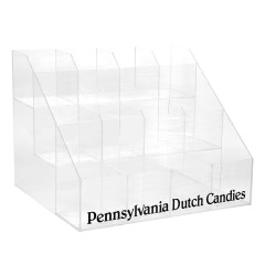 PENNSYLVANIA DUTCH CANDIES ACRYLIC THIN STICK RACK