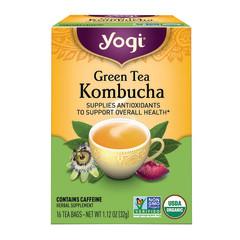 YOGI TEA KOMBUCHA GREEN 16 CT BOX