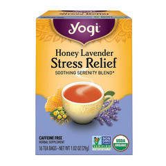 YOGI TEA HONEY LAVENDER STRESS RELIEF 16 CT BOX