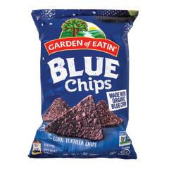 GARDEN OF EATIN' SALTED BLUE CHIPS 8.1 OZ BAG