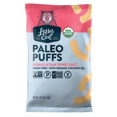 LESSER EVIL HIMALAYAN PINK SALT PALEO PUFFS 1 OZ BAG
