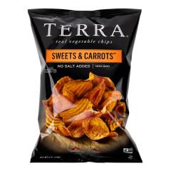 TERRA CHIPS SWEETS & CARROTS CHIPS 6 OZ BAG