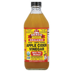 BRAGG LIVE FOODS ORGANIC APPLE CIDER VINEGAR 16 OZ BOTTLE