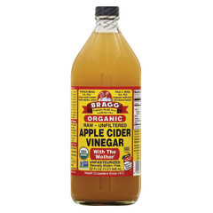 BRAGG LIVE FOODS ORGANIC APPLE CIDER VINEGAR 32 OZ BOTTLE