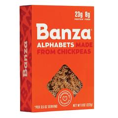 BANZA ALPHABETS CHICKPEA PASTA 8 OZ BOX