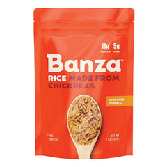 BANZA CHIPOTLE TOMATO CHICKPEA RICE 7 OZ BOX