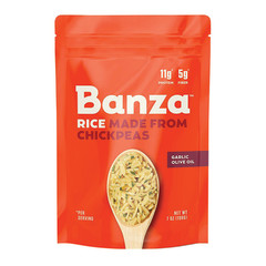 BANZA GARLIC OLIVE OIL CHICKPEA RICE 7 OZ BOX