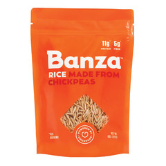 BANZA CHICKPEA RICE 8 OZ POUCH
