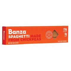 BANZA SPAGHETTI CHICKPEA PASTA 8 OZ BOX