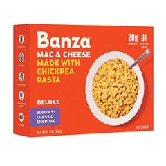 BANZA MAC & CHEESE DELUXE W/CHICKPEA PASTA 11 OZ BOX