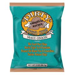 DIRTY MAUI ONION POTATO CHIPS 2 OZ BAG
