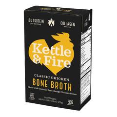 KETTLE & FIRE CLASSIC CHICKEN BONE BROTH 16.9 OZ BOX