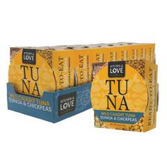 KITCHEN & LOVE QUINOA CHICKPEA TUNA 6 OZ BOX