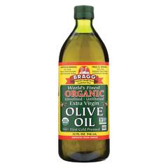 BRAGG ORGANIC EXTRA VIRGIN OLIVE OIL 32 OZ BOTTLE