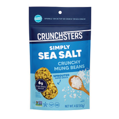 CRUNCHSTERS SEA SALT 4 OZ POUCH