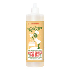 REBEL GREEN BERGAMOT CITRUS DISH SOAP 16 OZ BOTTLE