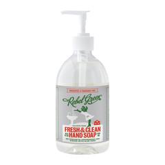 REBEL GREEN UNSCENTED HAND SOAP 16.9 OZ PUMP BOTTLE