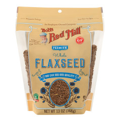 BOB'S RED MILL BROWN FLAXSEED 13 OZ POUCH